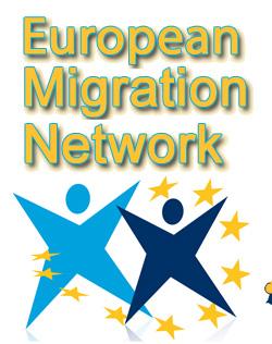 Logo Rete Europea Migrazioni (EMN)