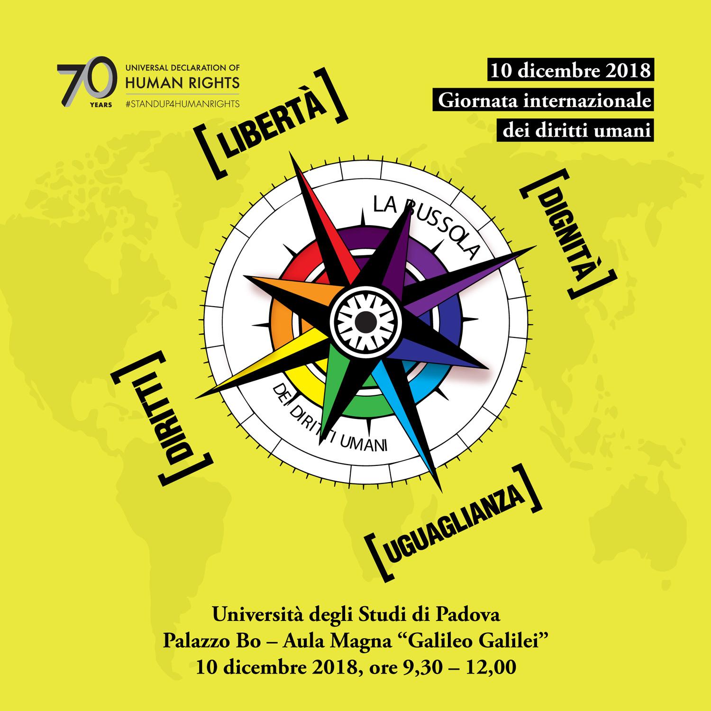 10 dicembre 2018 Giornata internazionale dei diritti umani, La bussola dei diritti umani