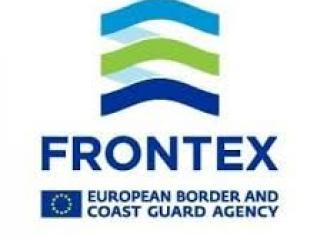 Logo Frontex - Agenzia europea per la gestione delle frontiere esterne