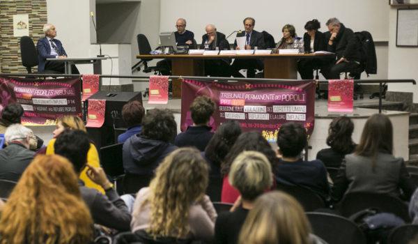 Tribunale dei popoli permanente in sessione