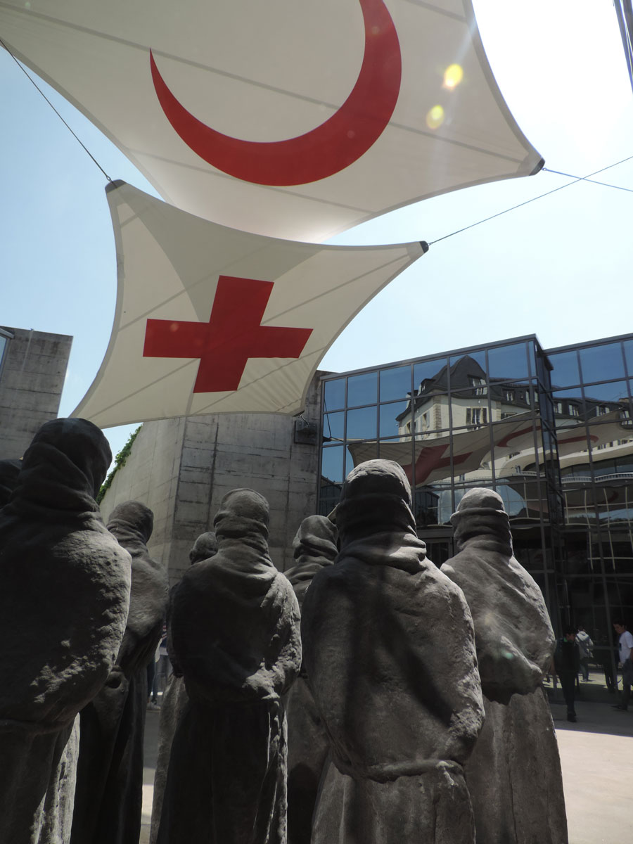 HRG students at the International Committee of the Red Cross