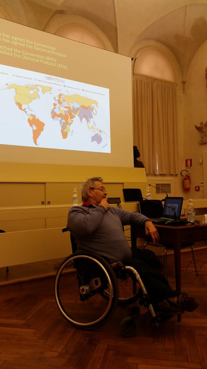 Dott. Giampiero Griffo, European Disability Forum