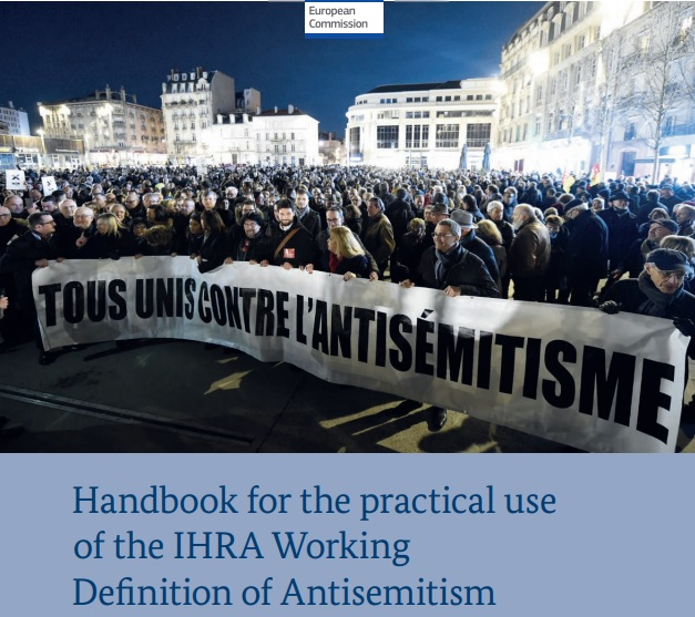 Handbook for the practical use of the International Holocaust Remembrance Alliance (IHRA) Working Definition of Antisemitism