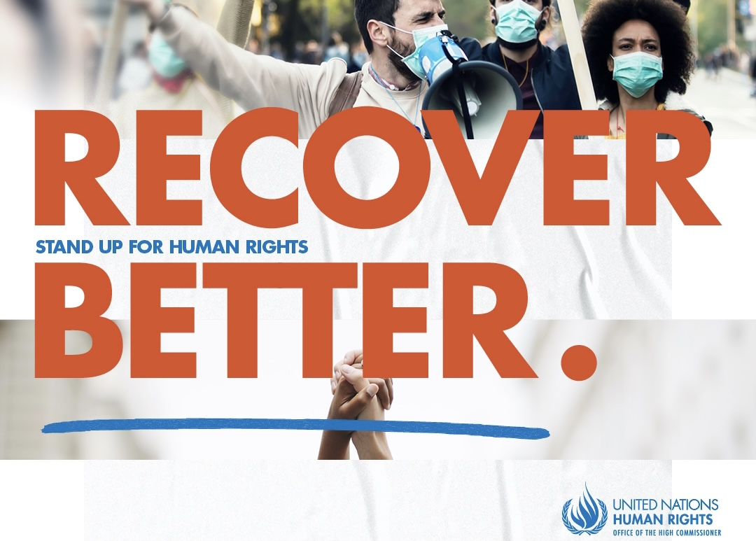 Human Rights Day 2020 -- Recover Better