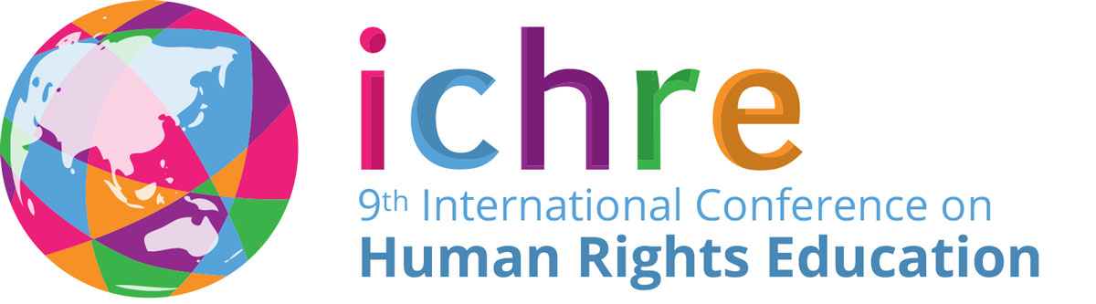 Logo of the 9th International Conference on Human Rights Education - ICHRE