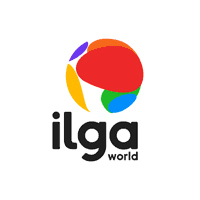 Logo Associazione internazionale lesbica gay bisessuale trans e intersessuale
