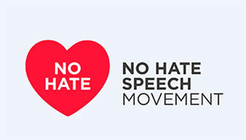 """Logo della campagna """"No Hate Speech Movement"""""""