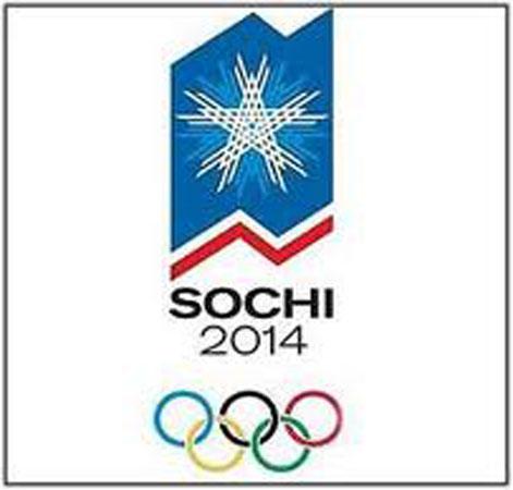 Logo dei Giochi Olimpici invernali 2014 a Sochi