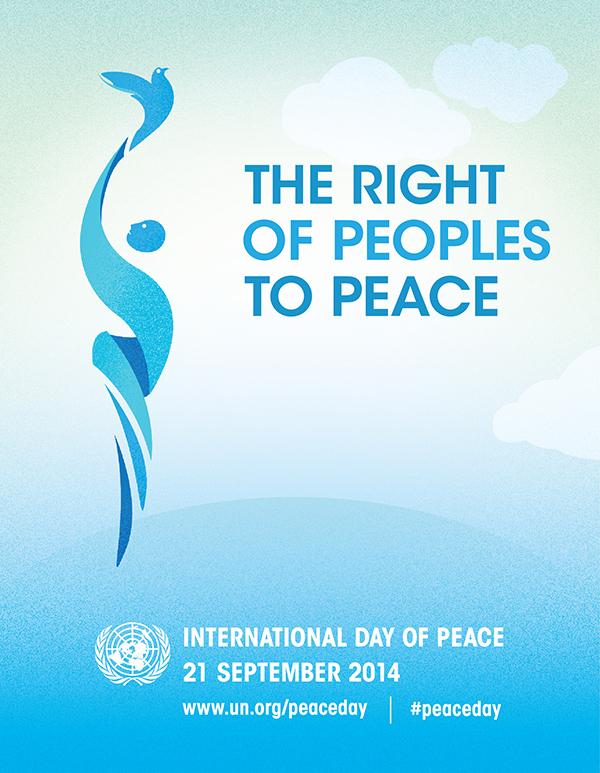 Logo Giornata Internazionale della Pace, 2014