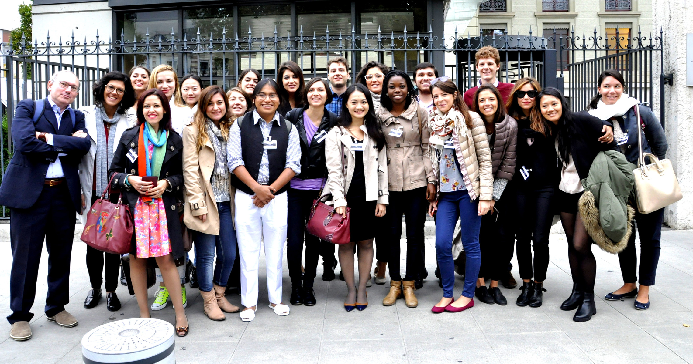 Master's degree course in Human Rights and Multilevel Governace of the University of Padova, Study Trip to Geneva, 2015