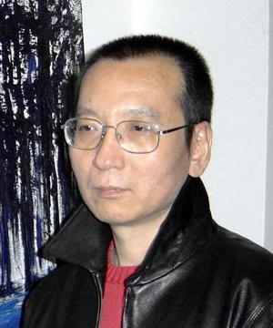 Primo piano di Liu Xiaobo - Premio Nobel per la pace 2010