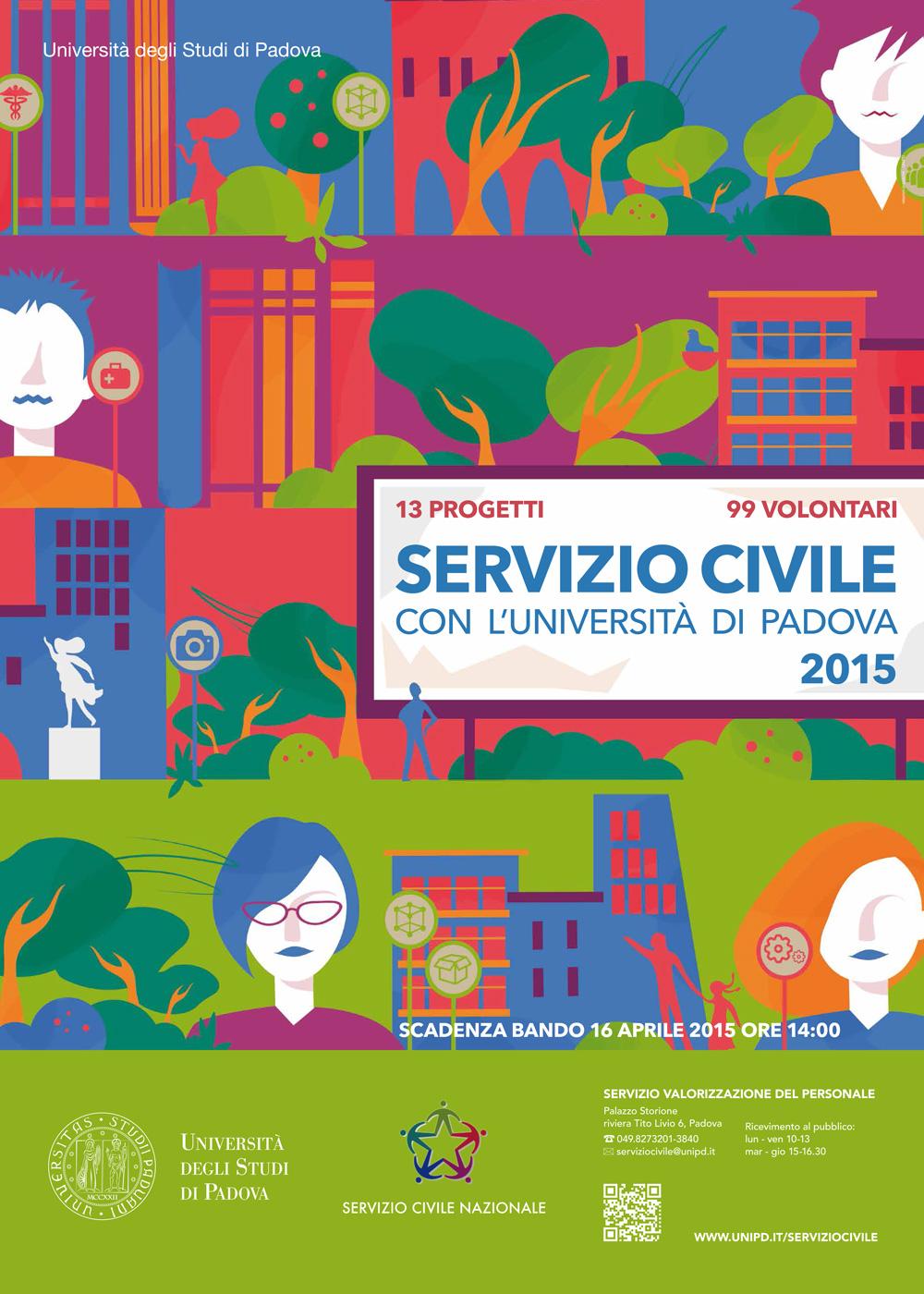 Servizio civile nazionale al Centro Diritti Umani dell'Università di Padova