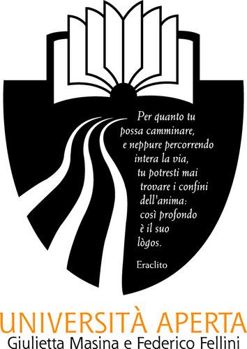 Logo Università Aperta Giulietta Masina e Federico Fellini, Rimini