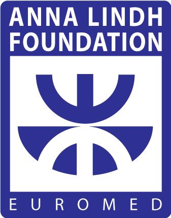 Logo ufficiale della Fondazione Anna Lindh per il dialogo tra le culture