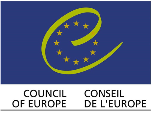 Institutional logo of the Council of Europe, founded 5 May 1949 by 10 founding States. Today the Council of Europe, with its offices in Strasbourg, France, assembles together 47 Member States of the Continental Europe.