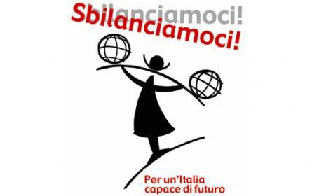 Logo della Campagna Sbilanciamoci! Per un'Italia capace di futuro