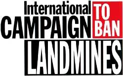 Logo della Campagna internazionale per la messa al bando delle mine antipersona