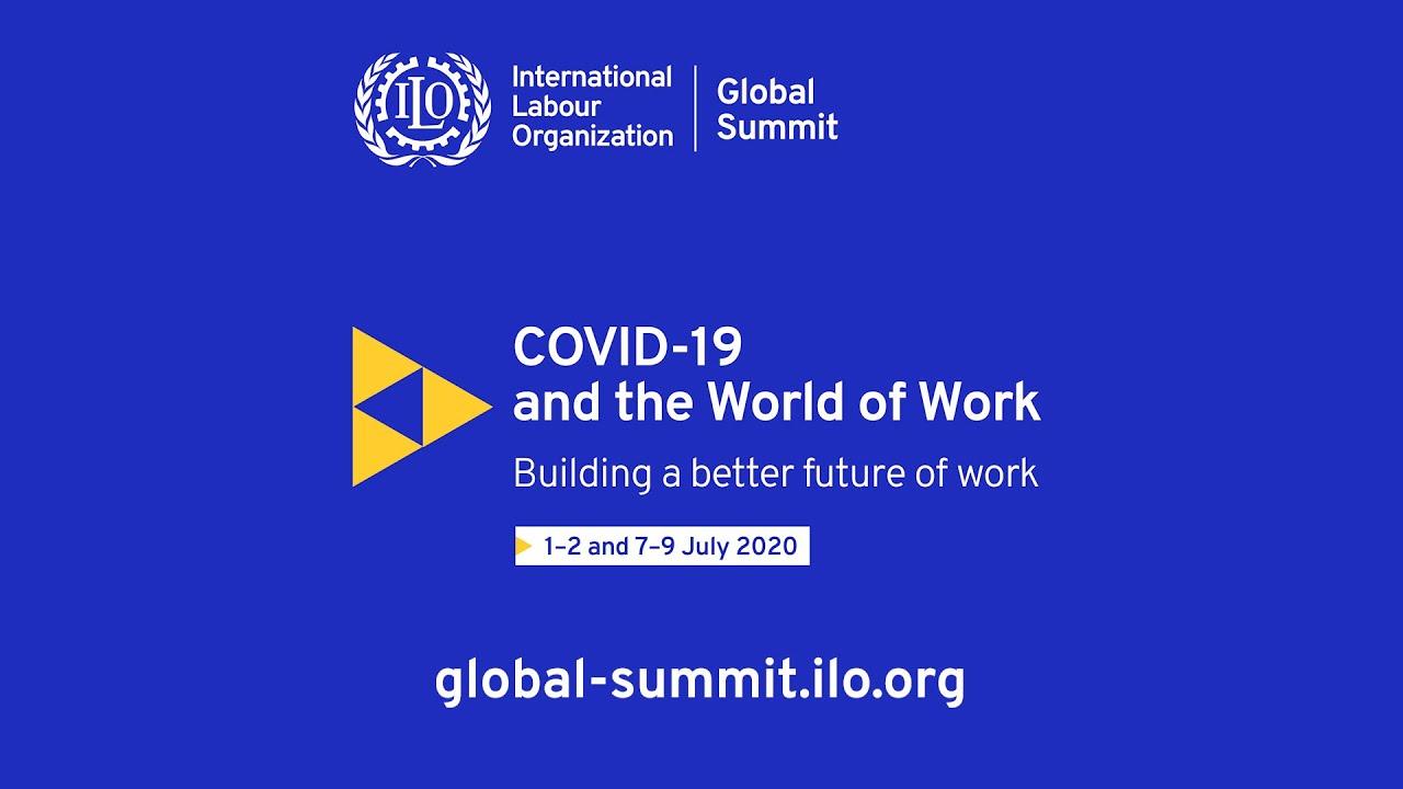 Vertice mondiale dell'OIL sul COVID-19 e il mondo del lavoro