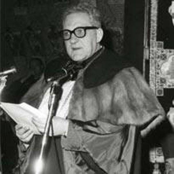 Enrico Opocher, studioso, uomo della Resistenza, rettore dell'Università di Padova.