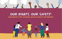 Our rights, our safety: toolkit di JASS per donne attiviste e difensore dei diritti umani