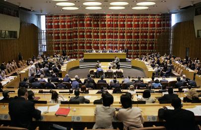 Sessione di lavoro della Peacebuilding Commission (New York, 2006)