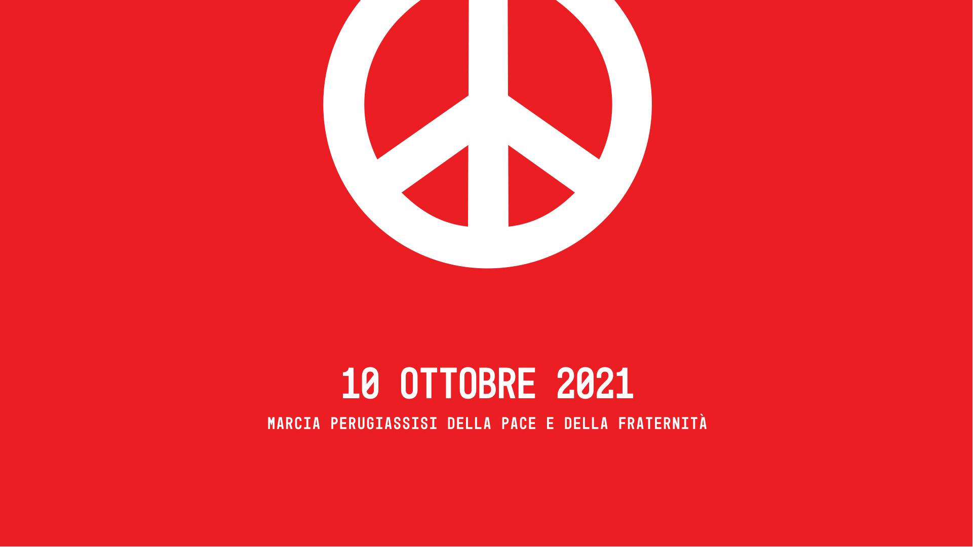 Marcia PerugiAssisi della pace e della fraternità 2021