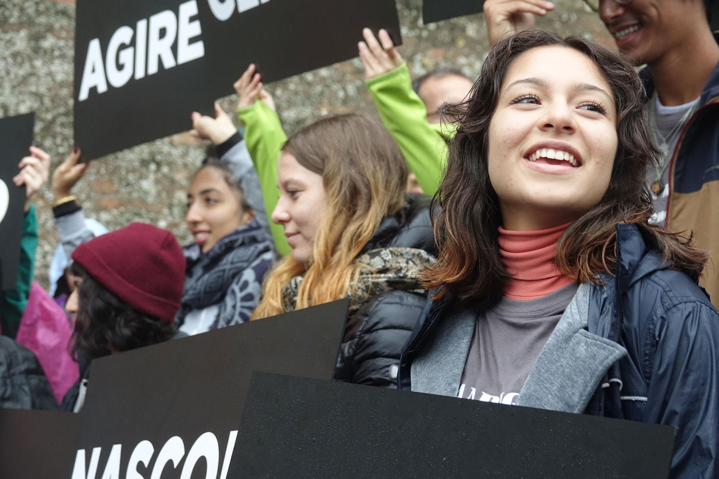 Marcia della Pace Perugia Assisi: la partecipazione degli studenti e volontari dell'Università di Padova, 7 ottobre 2018