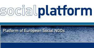 Logo della Piattaforma delle ONG sociali europee
