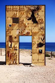Monumento in memoria dei migranti morti in mare, a Lampedusa.