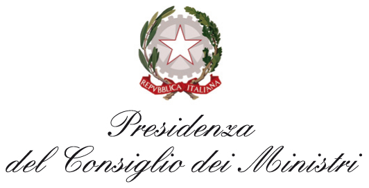 Logo della Presidenza del Consiglio dei Ministri