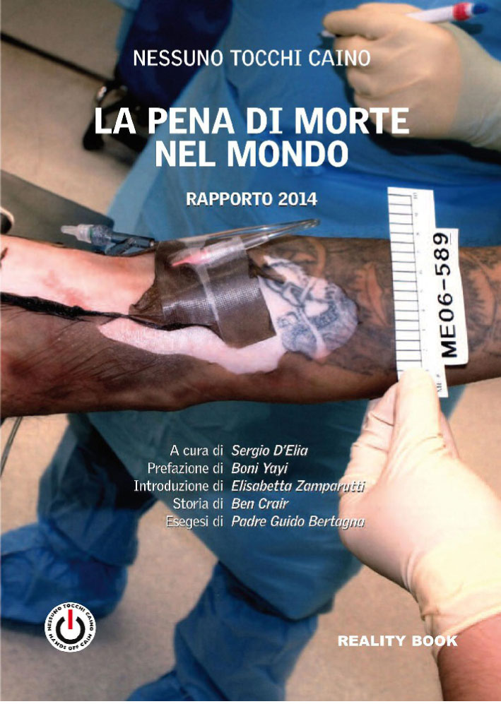 "Cover of the Report ""The Death penalty in the world"", 2014"