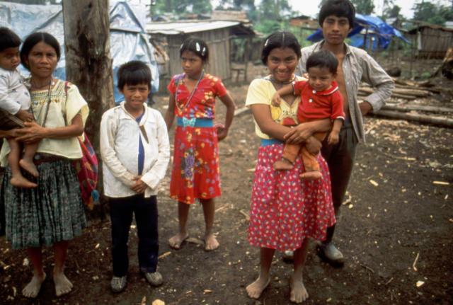 Bambini rifugiati del Guatemala, 1994