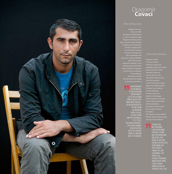 """Foto di Dragomir Covaci, progetto """" Rom - i percorsi d'integrazione riusciti"""" all'interno della campagna """"Dosta!"""" del Consiglio d'Europa, 2013"""