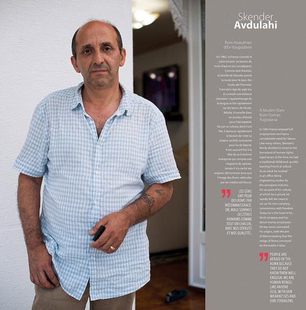 """Foto di Skender Avdulahi, progetto """" Rom - i percorsi d'integrazione riusciti"""" all'interno della campagna """"Dosta!"""" del Consiglio d'Europa, 2013"""
