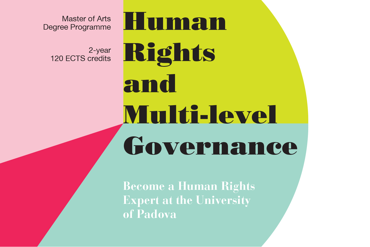 MA Degree Programme Human Rights and Multi-level Governance
