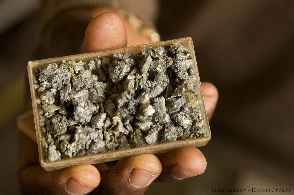 Used in cell phones and laptop computers, the 3Ts: tin, tantalum, and tungsten are also sold profitably by armed groups in eastern Congo.