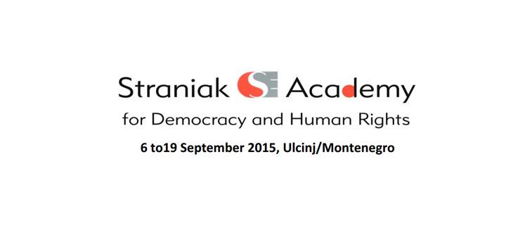 Straniak Academy for Democracy and Human Rights in Ulcinj, Montenegro