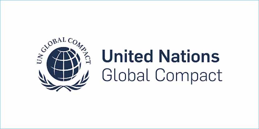 Logo Global Compact delle Nazioni Unite