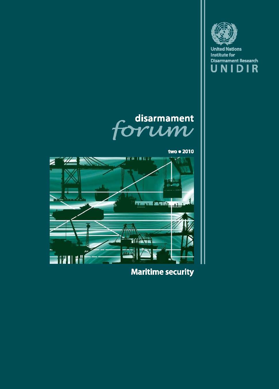 Copertina della pubblicazione Disarmament Forum 2/2010 di UNIDIR