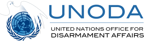 Logo UNODA - Ufficio delle Nazioni Unite per il disarmo