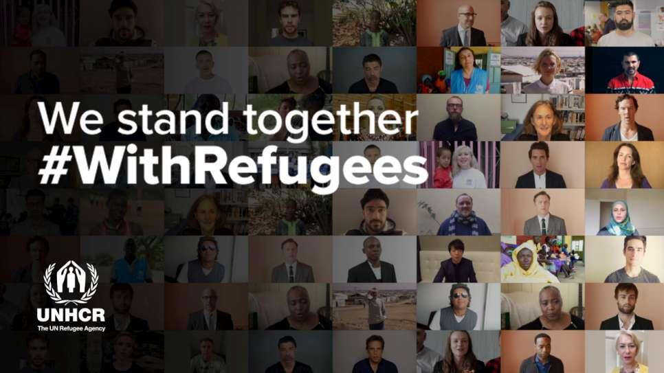 Giornata Mondiale del Rifugiato, UNHCR, campagna #WithRefugees