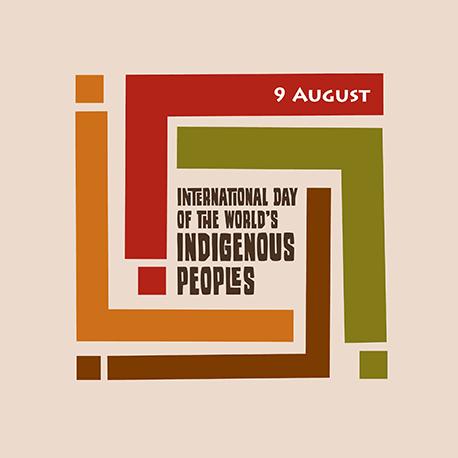 Giornata internazionale dei popoli indigeni del mondo, logo