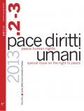 Pace diritti umani - Peace Human Rights, 2-3/2013. Anno X, numero 2-3, maggio-dicembre 2013. Special issue on the right to peace.