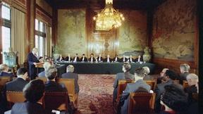 Prima sessione del Tribunale Penale Internazionale per la Ex-Jugoslavia, L'Aja, 1993