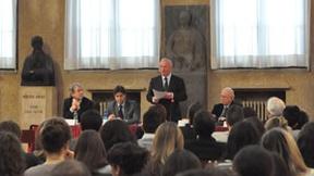 Vista della sala dei partecipanti, Aula Nievo, Padova, Marzo 2012