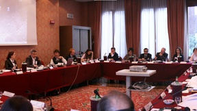 """Panoramic view of the participants at the 1st Thematic NPM Workshop on """"The role of NPMs in preventing ill-treatment in psychiatric institutions"""", Padua 24-25 March 2010"""