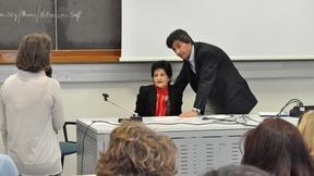 """Incontro con Peyvand Mansura """"Islam e diritti umani in Iran"""", Facoltà di Scienze Politiche, Padova, 26 maggio 2010"""
