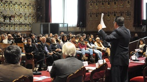 Session I (10.30-12.30): Federico Mayor, President of the International Commission, Former Director General of UNESCO