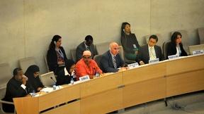 Sessione del Consiglio diritti umani, Ginevra, 2011.