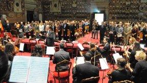 Conferenza annuale di International Peace Bureau nel 70° anniversario dell'entrata in vigore della Carta della Nazioni Unite, esecuzione musicale del Concentus Musicus Patavinus